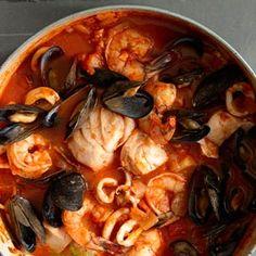 Cioppino (San Francisco style fish stew)