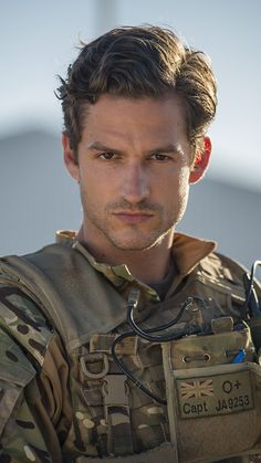 Ben Aldridge as Captain James in Our Girl - absolutely delicious! Our Girl Bbc, British Tv Comedies, Celebrities Then And Now, Comedy Tv, Men In Uniform, Film Serie, Man Crush, Gorgeous Men, Beautiful People