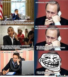 16 best Putin vs Obama jokes! | Daily Pastime - Part 2