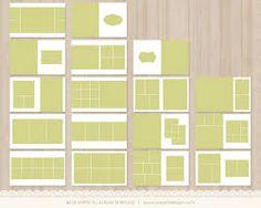 8x8 press printed lay flat album template classic alb203 instant download flats classic. Black Bedroom Furniture Sets. Home Design Ideas