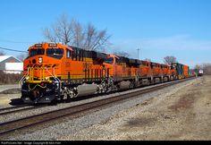 RailPictures.Net Photo: BNSF 8036 BNSF Railway GE ES44C4 at Joliet, Illinois by Nick Hart