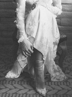 Long sleeve lace wedding dress Prairie Rose from the Romantique collection by Claire Pettibone.