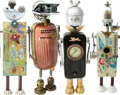 variety of Fobots