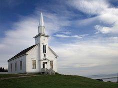 Malagawatch Historic Community Church Nova Scotia Canada
