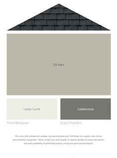 Help me name lp smartside new colors the decorologist for the home pinterest help me - Exterior intumescent paint set ...