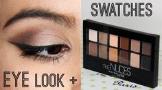 Maybelline The Nudes Palette First Impressions & Tutorial – Makeup Project