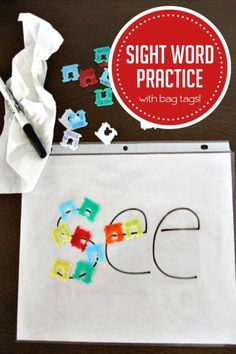 How to Practice Sight Words with Everyday Bread Bag Tags