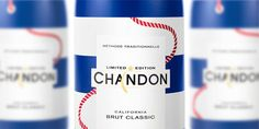 Chandon's Limited Edition American Summer Bottles