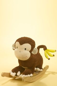 Rockabye Mocha Monkey. This is perfect for the wee ones.  I bought a few of these for baby shower gifts.  Why don't they make them adult size?  Hee Hee