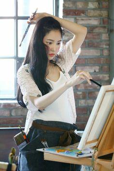 Son_Na_Eun South Korean Girls, Korean Girl Groups, Byun Jungha, Son Na Eun, Apink Naeun, Fashion Photography Poses, Cute Asian Girls, Girl Day, Celebs