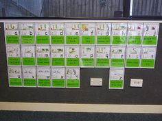 We have started our letter sound work linked with our Casey Caterpillar handwriting programme.  Here are some photos to show you our sound c...