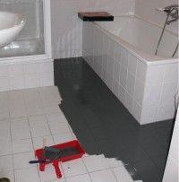 Badkamervloer betonverf