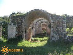 Antica chiesa medioevale dedicata a San Giacomo nel casale di Sombrino (Supersano), una delle tappe del pellegrinaggio verso Santa Maria di Leuca.