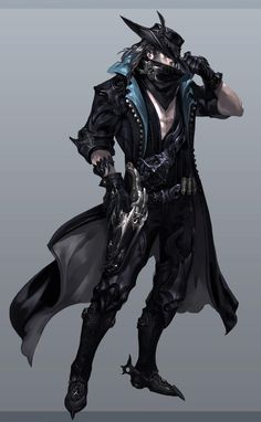 Concept of the Gunslinger (name not final) male, one of three new classes coming…