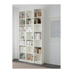 BILLY Bücherregal, weiß weiß 120x237x28 cm