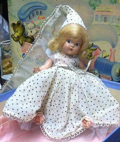 Vintage Vogue Ginny Doll Cinderella (1949) w/ Original box Minty!! #Dolls