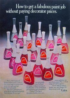 Vintage Cutex nail polishes
