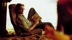 """Reading is sexy - """"Sawyer"""""""