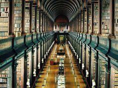 La Biblioteca del Trinity College en la Universidad de Dublin - Dublin, Irlanda | Las 49 bibliotecas más fascinantes de todo el mundo