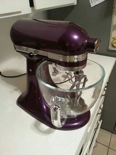 My Beautiful Plum Berry Kitchen Aid Stand Mixer! Canu0027t Wait To Break This
