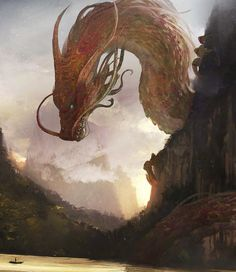 """thecollectibles: """" Chinese Dragon by Julien Gauthier """""""