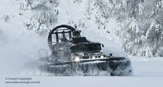 Royal Marine Landing Craft Air Cushioned             LUPUS 2 in Norway by Defence Images, via Flickr