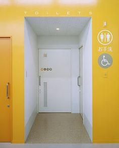toilet graphics/signage