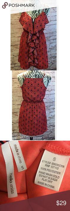 Spotted while shopping on Poshmark: MODCLOTH HELLO MISS BOLD PRINT DRESS! #poshmark #fashion #shopping #style #ModCloth #Dresses & Skirts