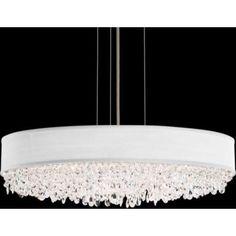 "Schonbek Plaza Swarovski Crystal 34"" Wide Pendant Light - #1F538 | LampsPlus.com"