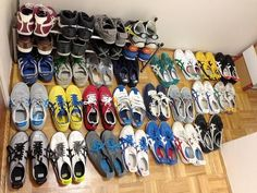 Daryl Claudio from Canada has quite an impressive collection of #OnitsukaTiger shoes with 31 pairs. WOW! Share yours using tag #OnitsukaTiger