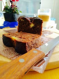 「米粉とバナナとココアのパウンドケーキ」米粉とココナッツオイル、ラカントSを使ったパウンドケーキです。【楽天レシピ】