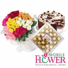 Mobile Flower offer best and cheap price Online Flower Delivery Pune, Florist In Pune and Largest collection of flowers, chocolates bouquet, Valentine gifts, birthday cakes for you.Flowers and cake are the best way to wish occasion .
