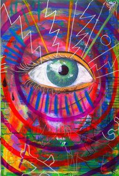 ☯☮ॐ american hippie psychedelic art ~ eyes. Painting Inspiration, Art Inspo, Hippy Art, Eye Art, Psychedelic Art, Wall Collage, Art Drawings, Trippy Drawings, Abstract Art