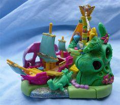 1997 Disney's Peter Pan Neverland Playset :: Polly Pocket Bluebird