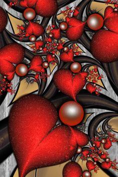 Christmas Hearts by SuicideBySafetyPin.deviantart.com on @DeviantArt