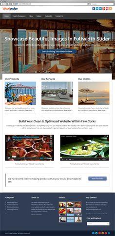 Woodpecker Business WordPress Theme Previews | InkThemes