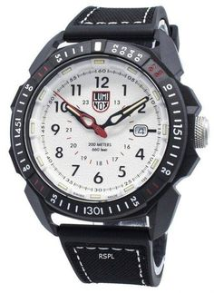 Features: Carbon Fiber Case Rubber/Silicone Strap Quartz Movement Sapphire Crystal White Dial Analog Display Luminous Hands And Markers Date Display Screwed Case Back Buckle Clasp Water Resistance Approximate Case Diameter: Approximate Case Thickness: White Watches For Men, Cool Watches, 200m, Casio Watch, Carbon Fiber, Gold Watch, Quartz, Crystals, Ebay