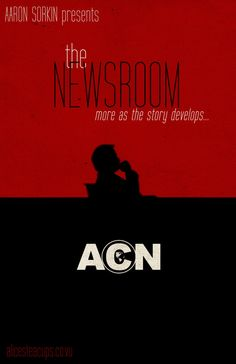 The Newsroom: More as the story develops... http://www.etsy.com/listing/159706581/the-newsroom-will-macavoy-minimalist? #thenewsroom #hbo #art