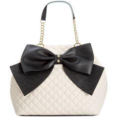 Betsey Johnson Trap Tote --- I have this bag ive gotten so many compliments! And the bag is huge so roomy Mini Backpack Purse, Tote Purse, Betsey Johnson Handbags, Popular Handbags, Shopper Bag, Cute Bags, Handbag Accessories, Handbag Brands, Purses And Handbags