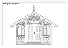 tegninger sveitserhus detaljer - Google-søk Door Entryway, Nordic Style, Victorian Homes, Gazebo, Diy And Crafts, Outdoor Structures, Doors, Architecture, Google
