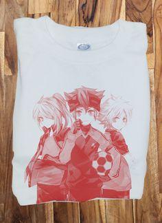 Custom Fanmade Inazuma Eleven Soccer T-Shirt Tee Tshirt