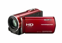 Sony HDR-CX110 High Definition Handycam Camcorder (Red)