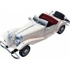 MG TC Midget - Automobiles - Vehicles - Paper Craft - Canon Creative Park Paper Model Car, Paper Car, Paper Toys, Cardboard Toys, Wooden Toys, Ford Convertible, Mercedes Benz, Peterbilt, Canon Inc