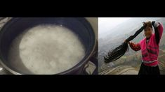 agua de arroz para un cabello mas largo y sin canas¡¡ secreto oriental