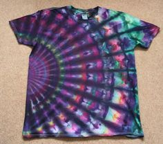 Audacious Tie Dyehere are the Finished Shirts From Last Weekend Tie Dye Designs - bce homes Kids Tie Dye, Kids Ties, How To Tie Dye, How To Dye Fabric, Tye Dye, Designs Tie Dye, T Shirt Makeover, Tie Dye Crafts, Diy Crafts