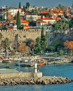 Antalya-Türkiye 🇹🇷 Alanya Turkey, Turkey Travel, Antalya, Wonderful Places, The Selection, Places To Visit, River, World, Amazing