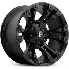 New 2015 Fuel Vapor D560, matte black wheels.
