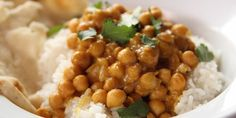 Chickpea Curry with Rice - 1t cumin - 1/2t coriander - 1/2t spicy pepper powder