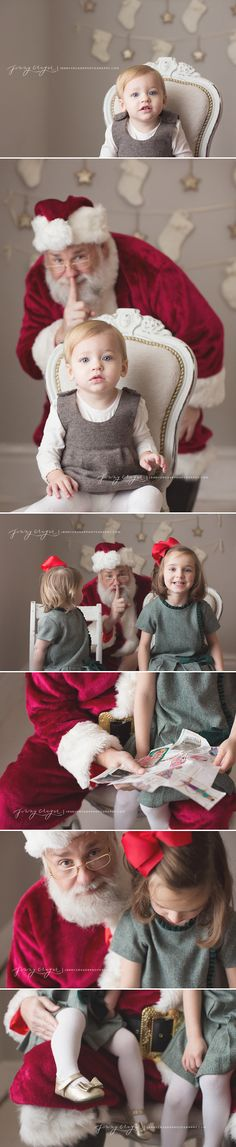 Santa Event - For those that don't want to sit in Santa's lap:  franklin_child_photographer