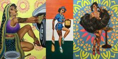 'Badass Indian Pinups' Artist Nimisha Bhanot Talks Art, Identity and Female Empowerment Indo-Canadian artist Nimisha Bhanot reached the height of Internet celebrity this week when her p…